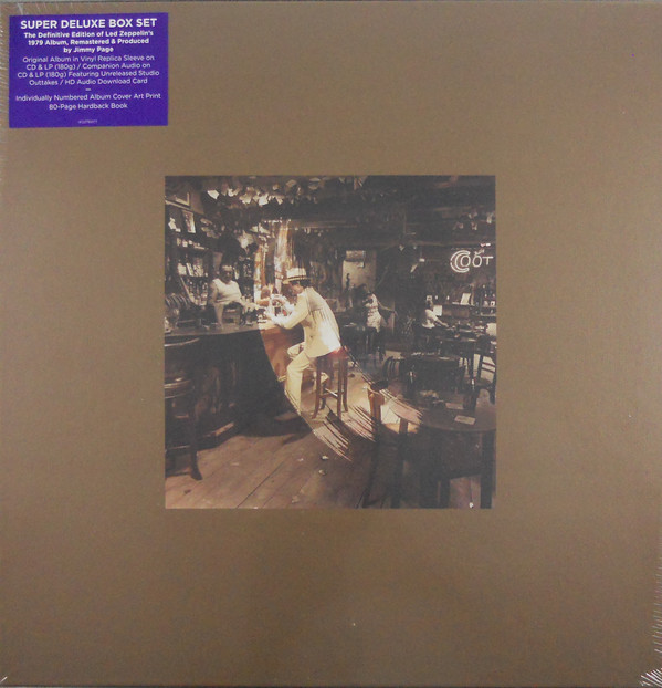 Виниловые пластинки Led Zeppelin IN THROUGH THE OUT DOOR (Super Deluxe Edition Box set/Remastered/2CD+2LP/180 Gram/Hardbound 80-page book) виниловая пластинка led zeppelin led zeppelin iv deluxe edition remastered 180 gram