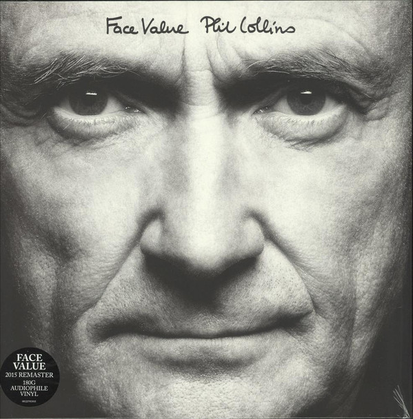 Виниловые пластинки Phil Collins FACE VALUE (180 Gram/Remastered) phil collins face value remastered lp