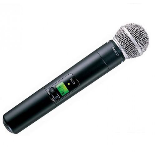 Микрофоны Shure SLX2/SM58 L4E 638 - 662 MHz