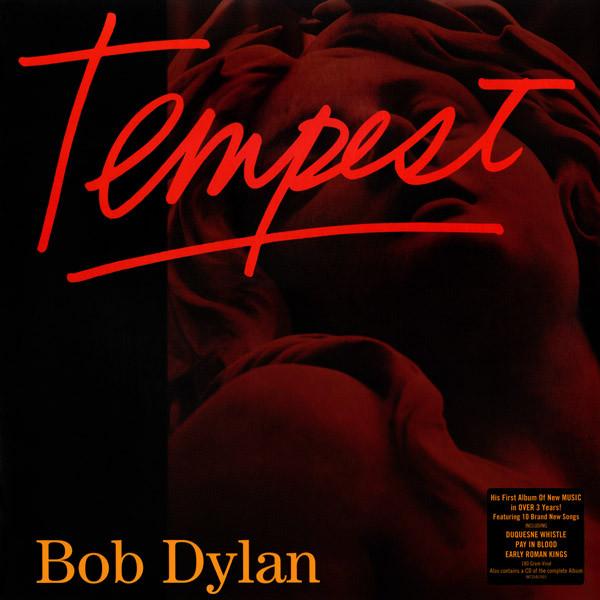 Виниловые пластинки Bob Dylan TEMPEST (2LP+CD/180 Gram) виниловые пластинки death cab for cutie kintsugi 2lp cd 180 gram