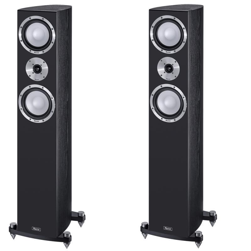 Напольная акустика Magnat Quantum 725 black акустика центрального канала mt power elegance center black