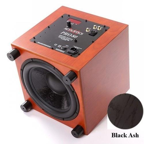 Сабвуферы MJ Acoustics Pro 80 Mk I black ash