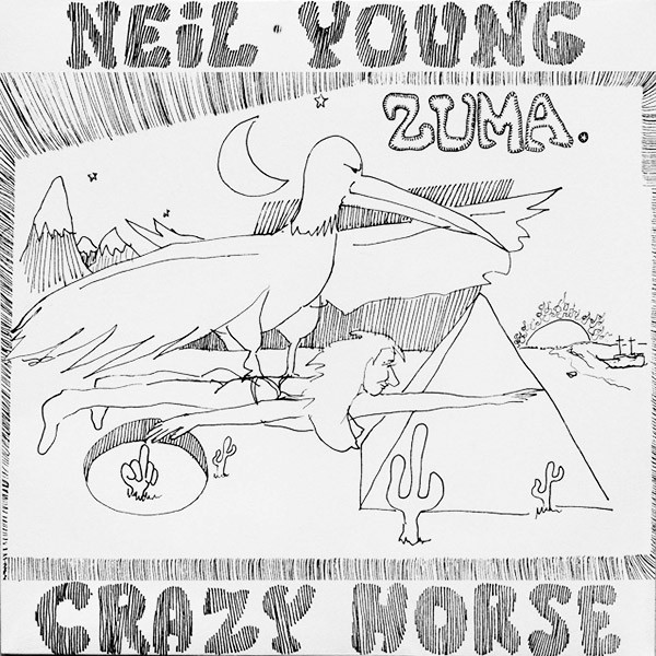 Виниловые пластинки Neil Young ZUMA (140 Gram) виниловая пластинка young neil zuma