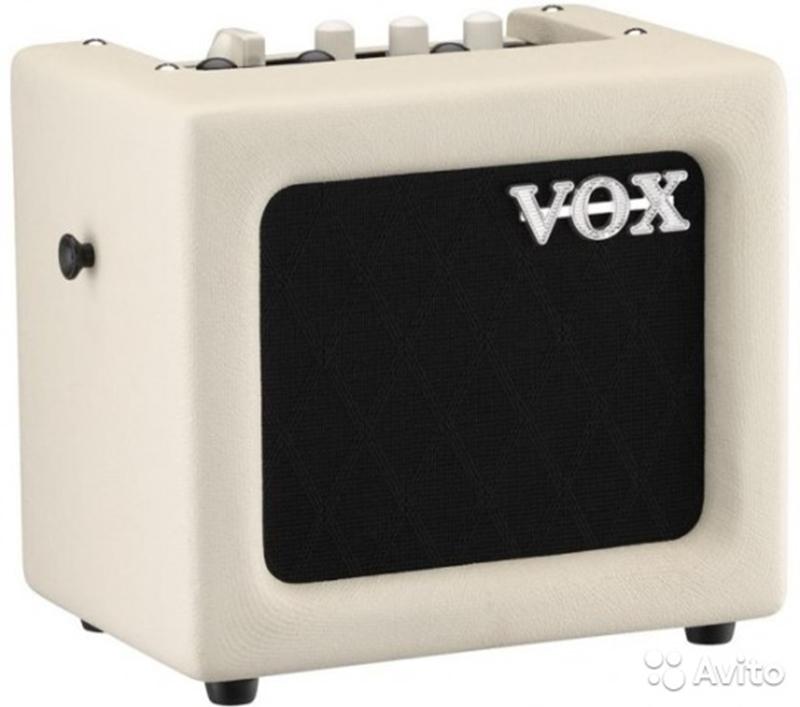 Купить <b>Комбо усилитель Vox MINI3</b>-<b>G2</b> Ivory в Москве, цена ...