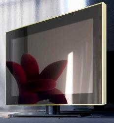 LCD 52 Four Stripes Сh/blk черноё стекло, серебри PULT.ru 158350.000