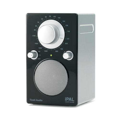 Радиоприемники Tivoli Audio iPAL High Gloss Black/Silver