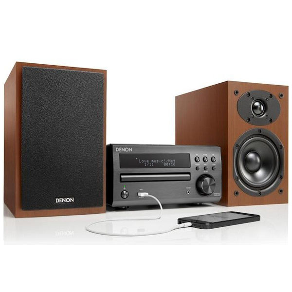 Музыкальные центры Denon D-M40 Black/Cherry (RCD-M40 black + SC-M40 cherry)
