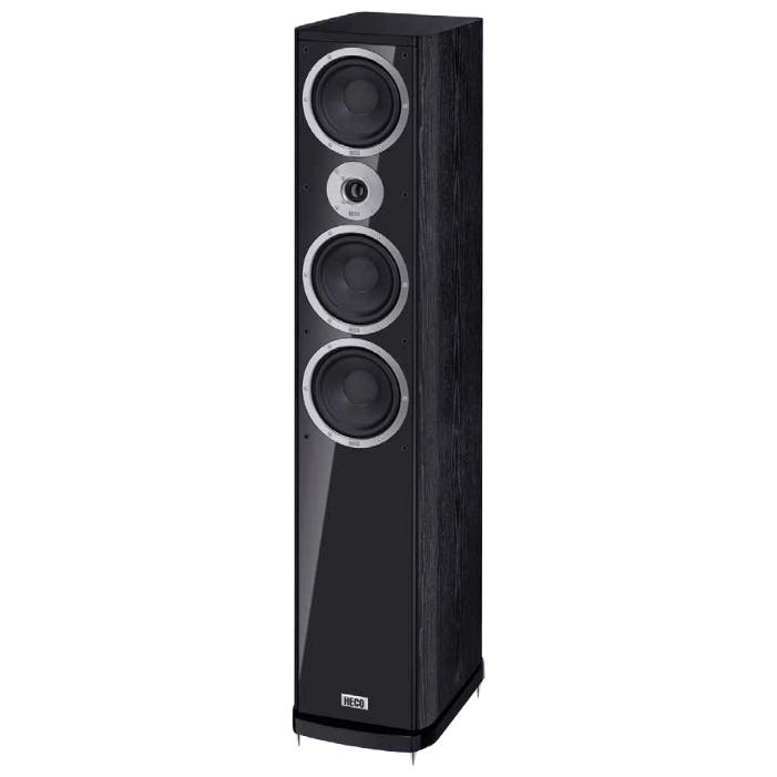 Напольная акустика Heco Music Style 900 black акустика центрального канала heco elementa center 30 white satin