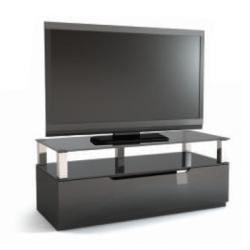 Подставки под телевизоры и Hi-Fi MD 551 Planima серебристый/дымчатое стекло стойка metaldesign md 552 planima черный дымчатое стекло