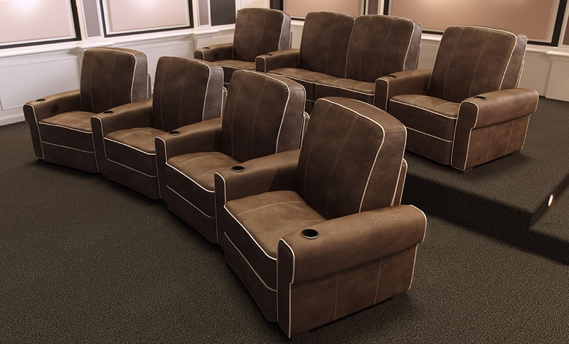 Кресла для домашнего кинотеатра Salamander