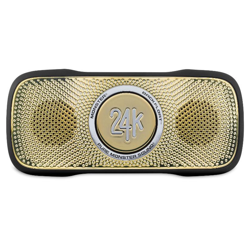 где купить  Портативная акустика Monster SuperStar BackFloat 24K Gold (129285-00)  дешево