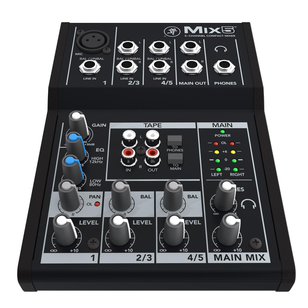 ��������� ������ Mackie Mix5