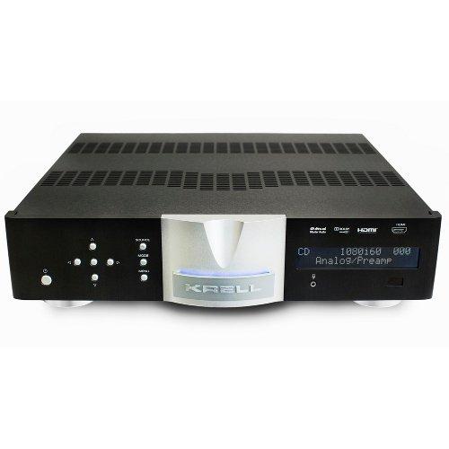 Интегральные стереоусилители KrellИнтегральные стереоусилители<br>Интегральный усилитель Krell Vanguard включает 200-ватт на канал усилитель и Class A предусилитель. Как дополнительная опция предлагается цифровой модуль с USB, HDMI, коаксиальным и оптическими входами, а также Ethernet audio и apt-X Bluetooth.   Усилитель Vanguard включает массивный блок питания с тороидальным трансформатором 750 ВА и 80000 мкФ емкости. Усилитель обеспечивает 200 Вт на канал при 8 Ом и 400 Вт на 4 Ом. Два тихих вентилятора позволяют использовать удивительно компактное шасси.   Секция предусилителя заимствует сбалансированные, полностью дискретные схемы класса А из предусилителя Krell Illusion. Технология Krell Current Mode используется для обеспечения непревзойденного диапазона частот сигнала, достаточную, чтобы с легкостью обрабатывать последнюю импульсно-кодовую модуляцию / PCM и однобитный аудиоформат / DSD, не влияя на высокие частоты и детализацию.  Напичканный многими технологиями Krell, но элегантный внешне. Он имеет достаточно мощи, чтобы достичь невероятной и реалистичной динамики с любой акустической системой.   Аналоговые входы включают три стерео RCA и один стерео балансный XLR. Высококачественные WBT терминалы обеспечивают безопасную, электрически идеальную связь.<br><br>Страна (главный офис): США<br>Тип: интегральный усилитель<br>Потребляемая мощность, Вт: 1300<br>Вес, кг: 17.7<br>Количество аналоговых входов XLR: 1<br>Мощность на канал (8 Ом), Вт: 200<br>Эквалайзер: нет<br>Подключение двух пар колонок: нет<br>Количество входов USB: 1<br>Ширина, мм: 434<br>Особенности: Скорость нарастания выходного напряжения :50 В/мс<br>Соотношение сигнал/шум, дБ: 97<br>Производитель: Krell<br>Wi-Fi: нет<br>Мостовой режим: нет<br>Коэффициент нелинейных искажений, %: 0.015<br>Управление в составе умного дома: Triger<br>Поддержка RDS: нет<br>Ethernet: есть<br>Поддержка DLNA: нет<br>Высота, мм: 105<br>Глубина, мм: 445<br>Режим Direct: нет<br>Цвет компонента: чёрный<br>Стрелочный индикатор