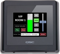 Панели управления мультирум QSC TSC-3  цена