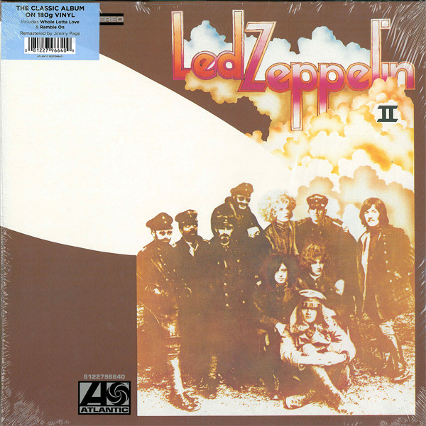 Виниловые пластинки Led Zeppelin LED ZEPPELIN II (Remastered/180 Gram) led zeppelin led zeppelin original recording remastered 3