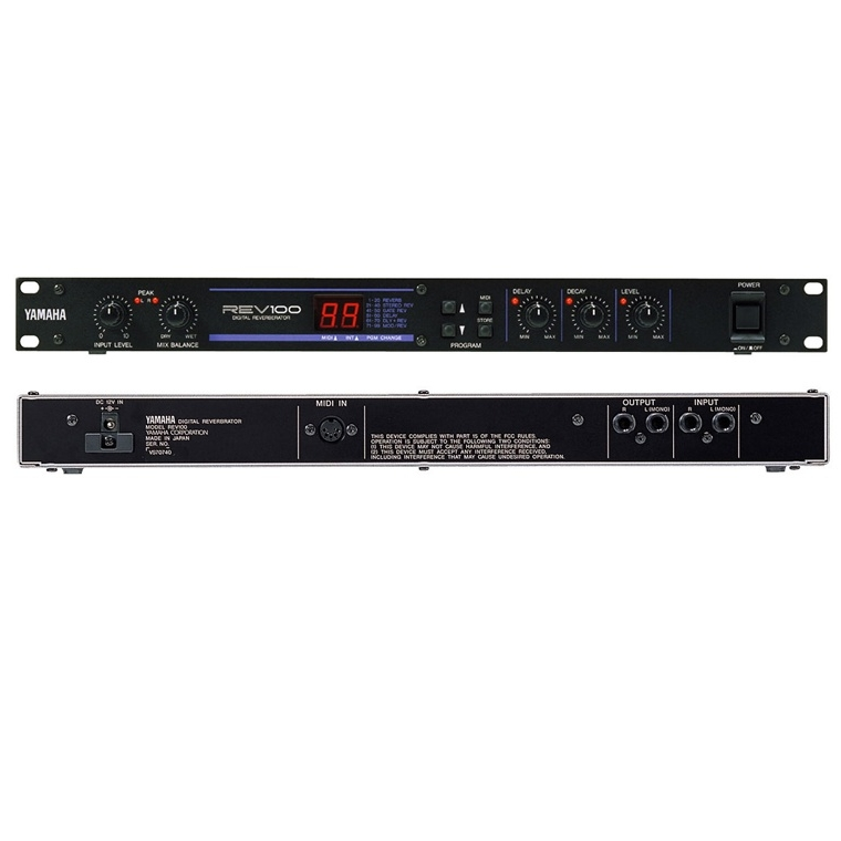 Приборы обработки звука Yamaha