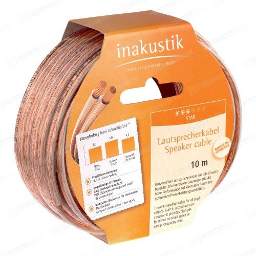 Акустические кабели In-Akustik Star LS-Reels, 2 x 1.5 mm2  акустические кабели in akustik star ls cable 2 x 1 5 mm2