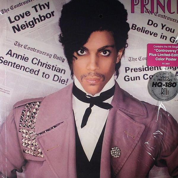 Виниловые пластинки Prince CONTROVERSY (180 Gram/Remastered) west ham manchester united