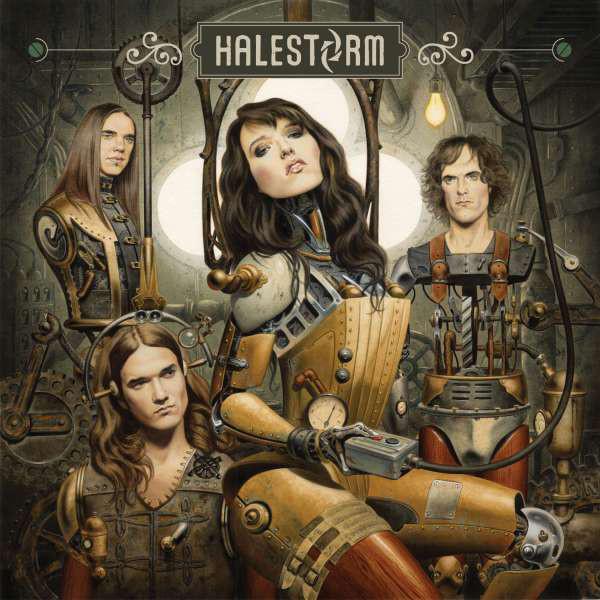 Виниловые пластинки Halestorm HALESTORM