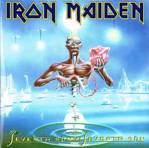 Виниловые пластинки Iron Maiden SEVENTH SON OF A SEVENTH SON (180 Gram) son of a witch