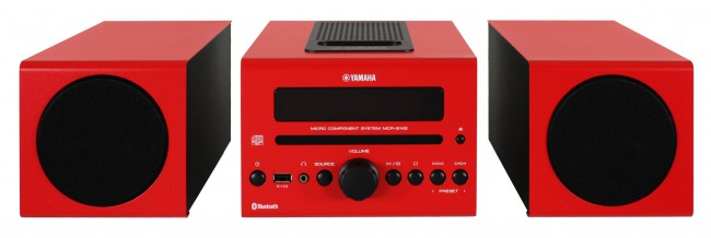 yamaha mcr b142 red. Black Bedroom Furniture Sets. Home Design Ideas