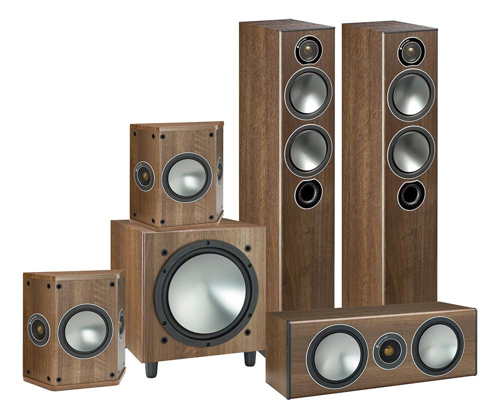 Monitor Audio Bronze AV 5.1 walnut