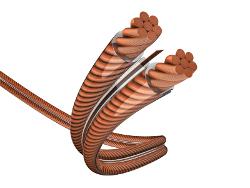 Акустические кабели In-Akustik Exzellenz LS MSR, 2 x 2.5 мм2, катушка 100 м, 0060