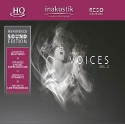 Аксессуары In-Akustik CD Great Voices Vol. II 0167502 chethan kumar m r rajendra prasad s and radha b n identificaction and standerdization of molecular markers