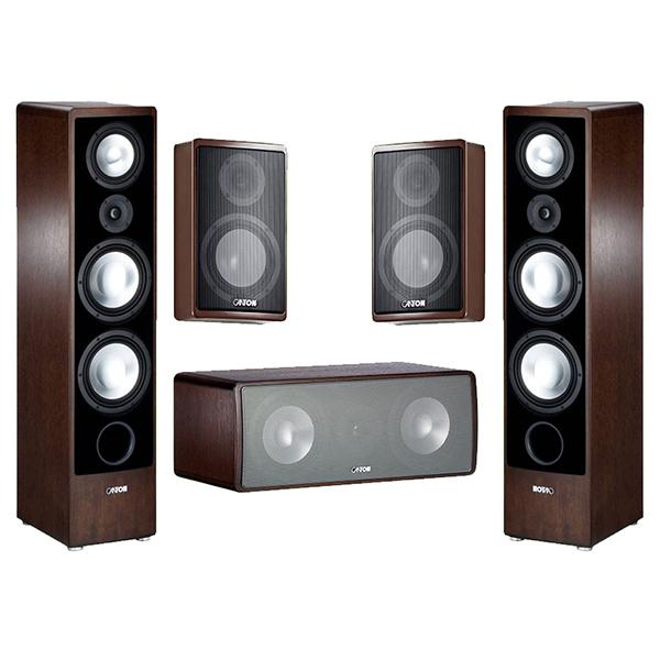 <b>Купить</b> комплект акустики Canton Ergo 690 Set 5.0 wenge ...