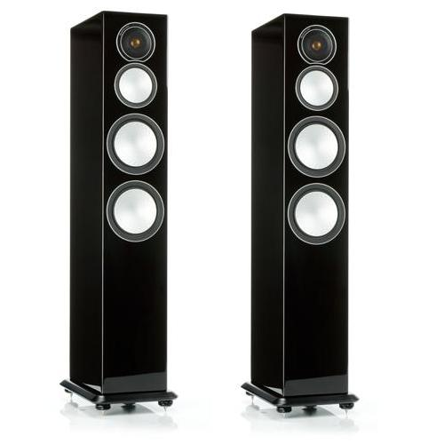 Напольная акустика Monitor Audio Silver 8 high gloss black skullies