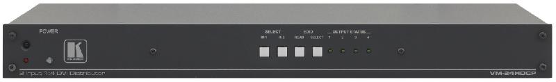 Оборудование для аудио/видео коммутации Kramer VM-24HDCP