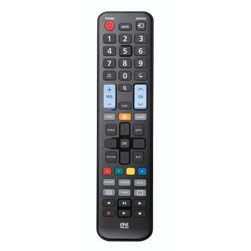 Пульты программируемые OneForAll Replacement Remote for Samsung TVs (URC1910) пульты программируемые urc mx 850