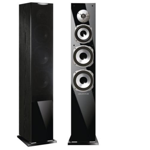 Напольная акустика Quadral Argentum 490 black quadral argentum 410 base black