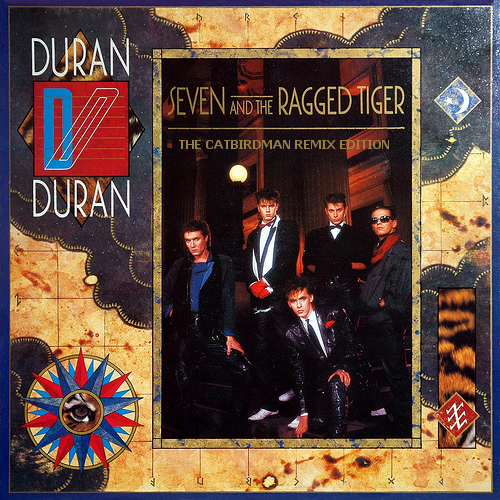 Duran Duran SEVEN AND THE RAGGED TIGER (180 Gram)