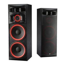 Акустические системы Cerwin-Vega - Cerwin-VegaНапольная акустика<br>Напольные акустические системы Cerwin-Vega XLS-215 оснащены двумя басовыми динамиками диаметром 15-дюймов, и, с учетом своей высокой чувствительности, способны развивать в комнате прослушивания весьма высокое звуковое давление. Низкочастотные динамики в колонках Cerwin-Vega XLS-215 изготовлены на литой антирезонансной корзине. Диффузоры из ткани со специальной пропиткой закреплены на эластичных подвесах агрессивно-красного цвета (которые видно даже сквозь защитные сетки), которые обеспечивают их...<br>