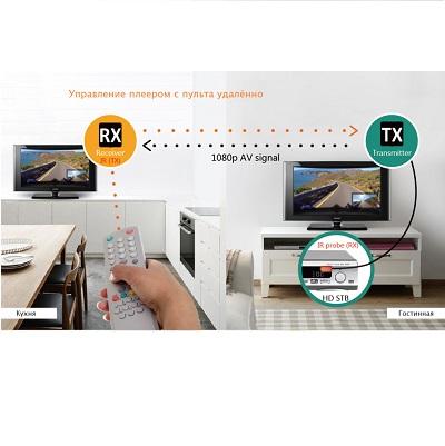 Удлинитель HDMI по витой паре до 60м extender VCOM (DD471) +2б.п.