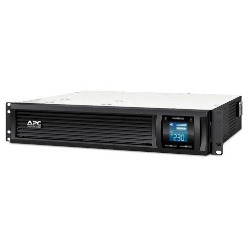 Бесперебойные источники питания APC Smart-UPS SMC1000I-2U 1000VA black ибп apc smc1000i 2u smart ups 1000va 600w