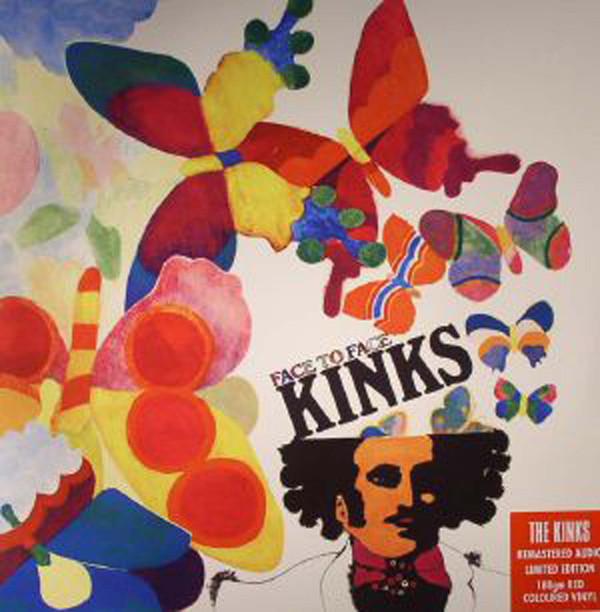 Виниловые пластинки The Kinks FACE TO FACE (180 Gram/Solid red vinyl) стоимость