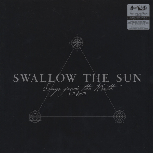 Виниловые пластинки Swallow the Sun SONGS FROM THE NORTH I, II & III (5LP+3CD/Box set) two rooms celebrating the songs of elton john