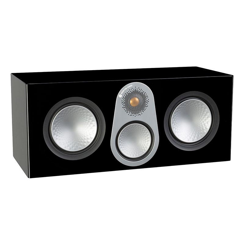 Акустика центрального канала Monitor Audio Silver C350 high gloss black акустика центрального канала piega classic center large macassar high gloss