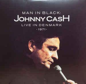 Johnny Cash MAN IN BLACK: LIVE IN DENMARK 1971 (White And Red johnny cash johnny cash the sound of
