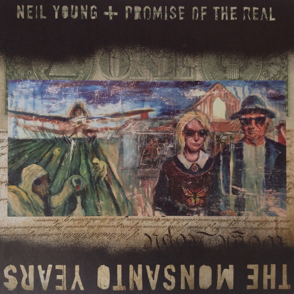 Виниловые пластинки Neil Young THE MONSANTO YEARS (180 Gram/Limited/Production: Pallas GmbH)