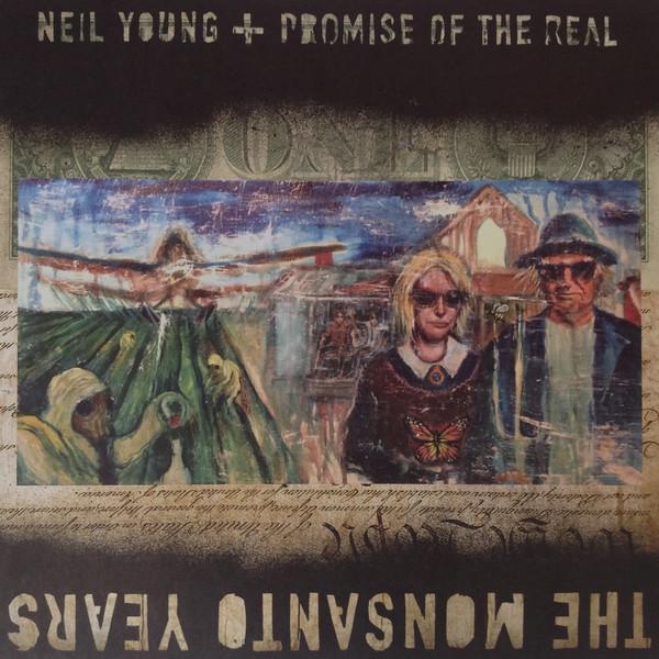 Виниловые пластинки Neil Young THE MONSANTO YEARS (180 Gram/Limited/Production: Pallas GmbH)