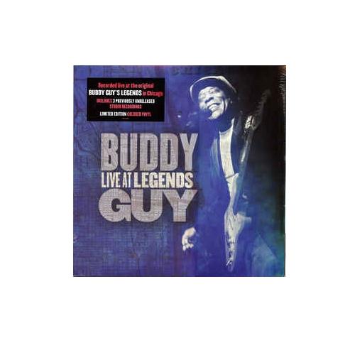 Виниловые пластинки Buddy Guy LIVE AT LEGENDS (Blue-White Split Color Vinyl)