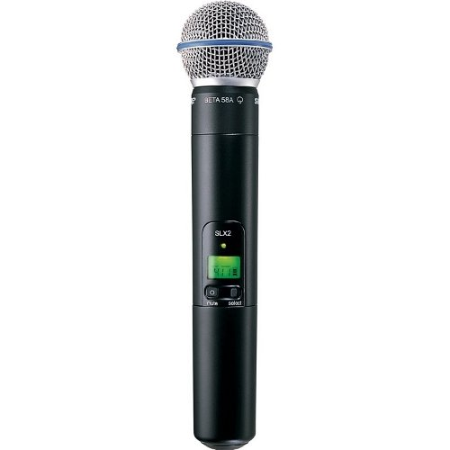 Микрофоны Shure SLX2/BETA58 L4E 638 - 662 MHz