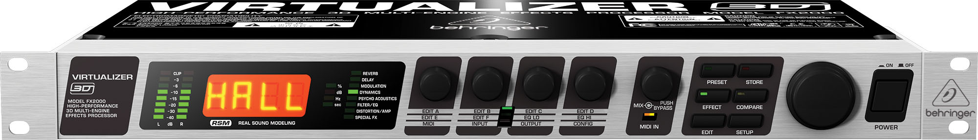 Приборы обработки звука Behringer