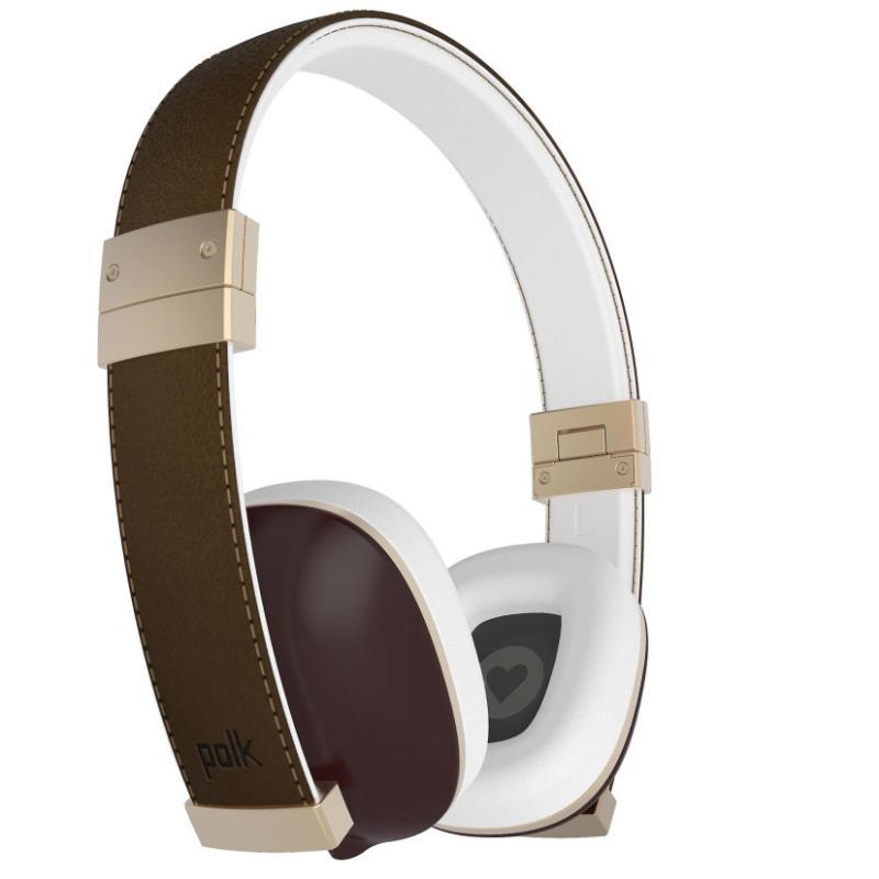 Наушники Polk Audio Hinge brown гарнитура polk audio buckle brown