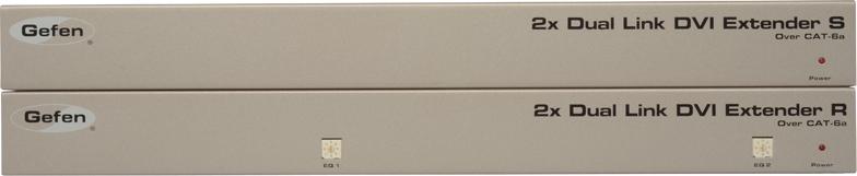 Мультирум контроллеры и усилители Gefen EXT-2DVI-CAT6DL