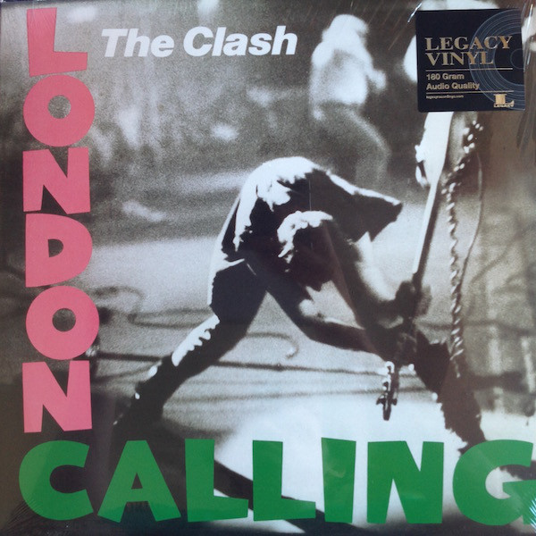 Виниловые пластинки The Clash LONDON CALLING (180 Gram/Remastered)