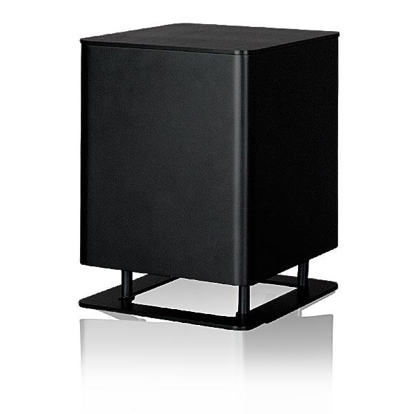 Сабвуферы Piega Tmicro Sub AB black alu/black